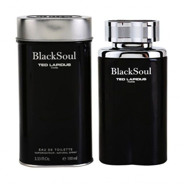 perfume ted lapidus black soul edt masculino 100 ml 51136 2000 203423