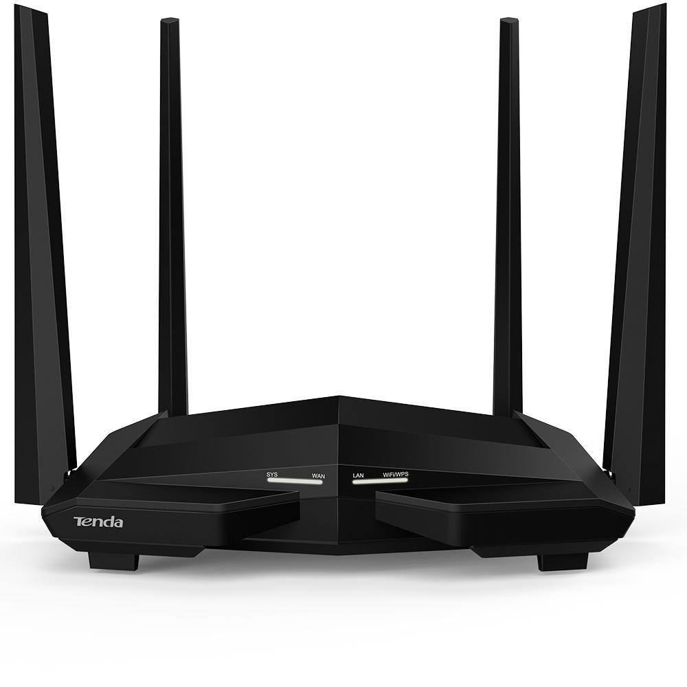 wireless roteador tenda ac10 ac 1200 mbps dual band giga 51124 2000 203342 2
