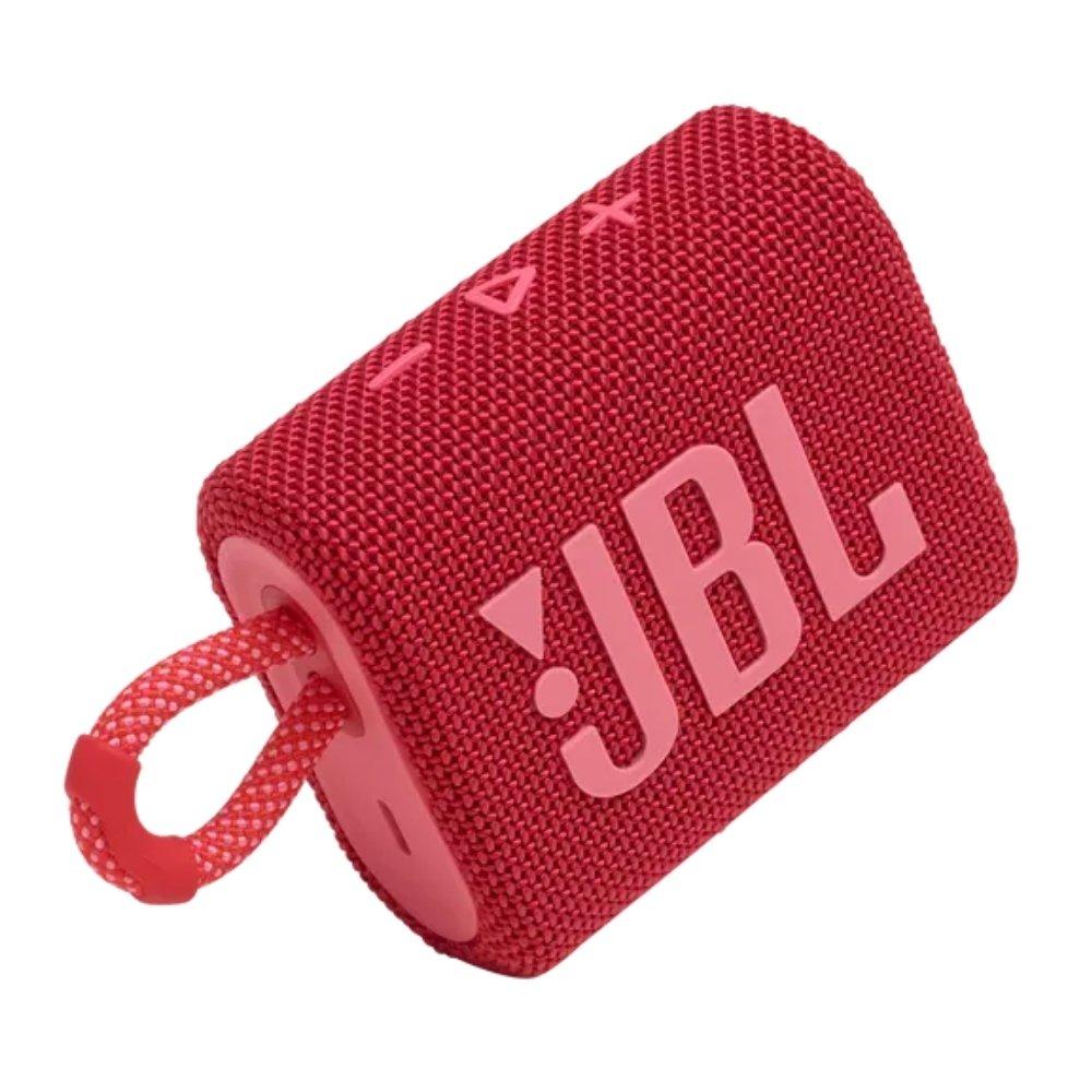 caixa de som bluetooth jbl go 3 vermelha go3 51079 2000 203804