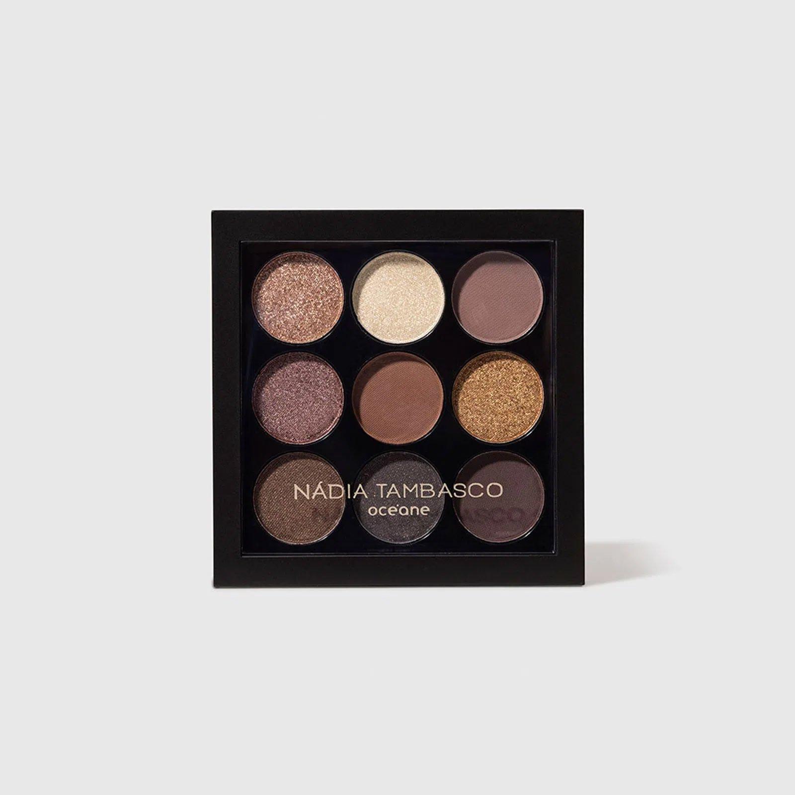 maquiagem paleta de sombras to go basic oceane nadia tambasco 51365 2000 204097