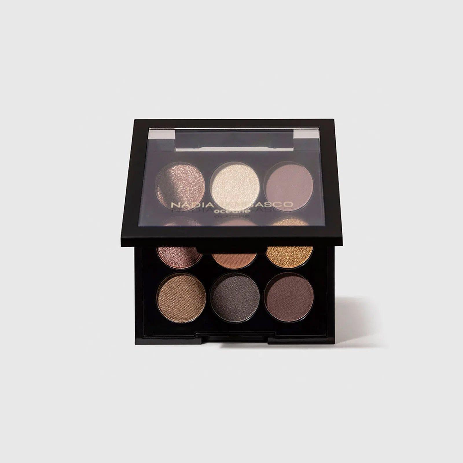 maquiagem paleta de sombras to go basic oceane nadia tambasco 51365 2000 204098
