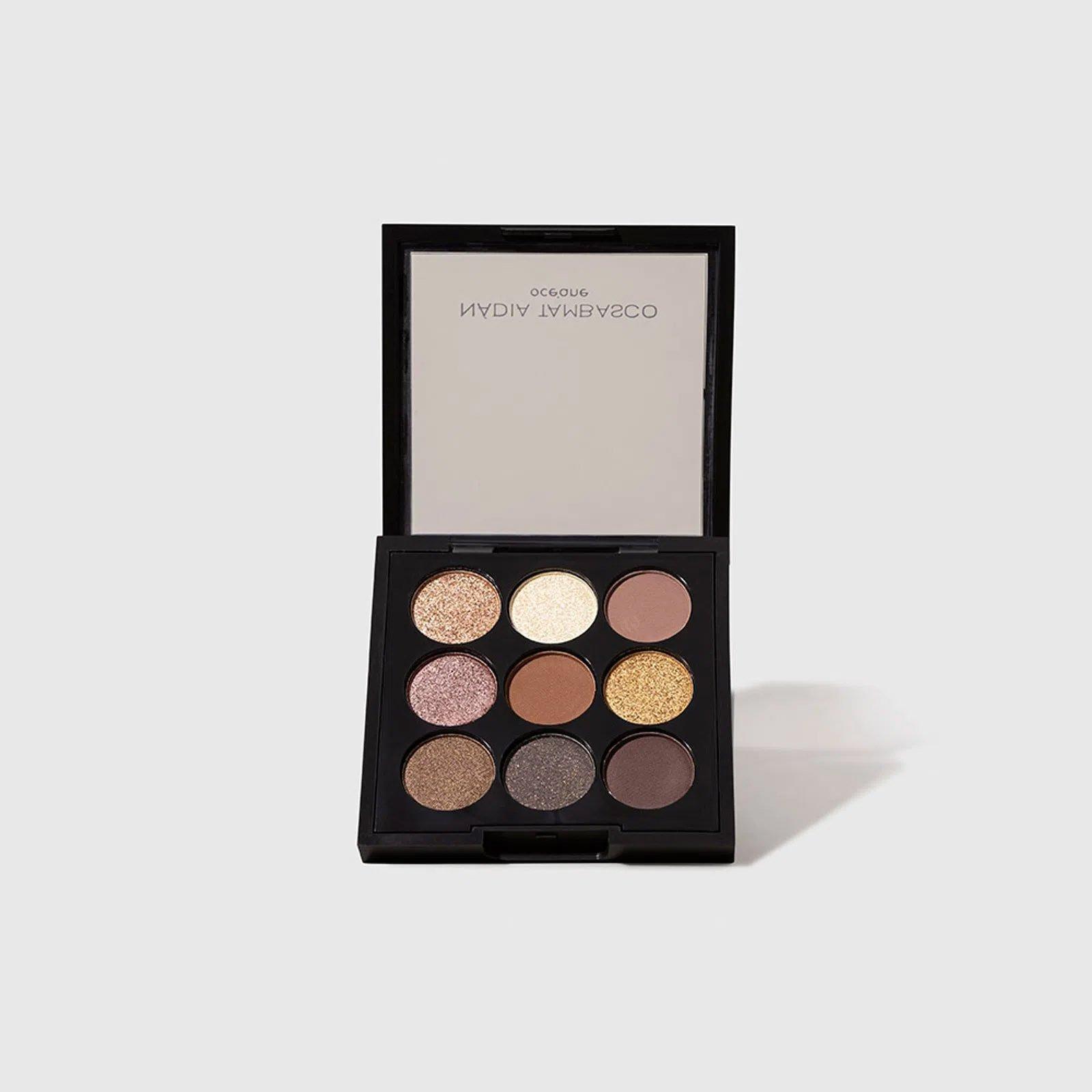 maquiagem paleta de sombras to go basic oceane nadia tambasco 51365 2000 204099