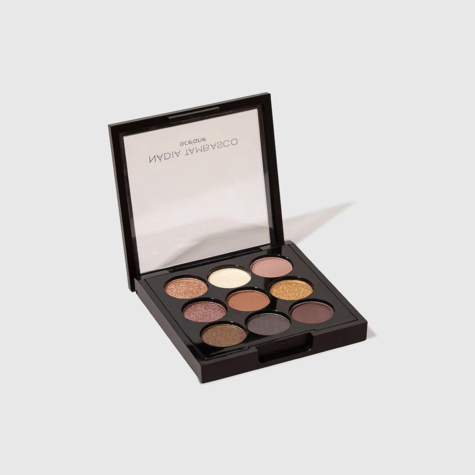 maquiagem paleta de sombras to go basic oceane nadia tambasco 51365 2000 204100