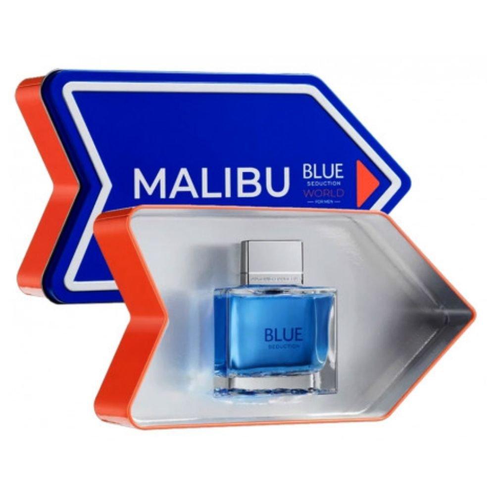 perfume antonio banderas blue seduction malibu masculino edt 100ml 51363 2000 203975 2