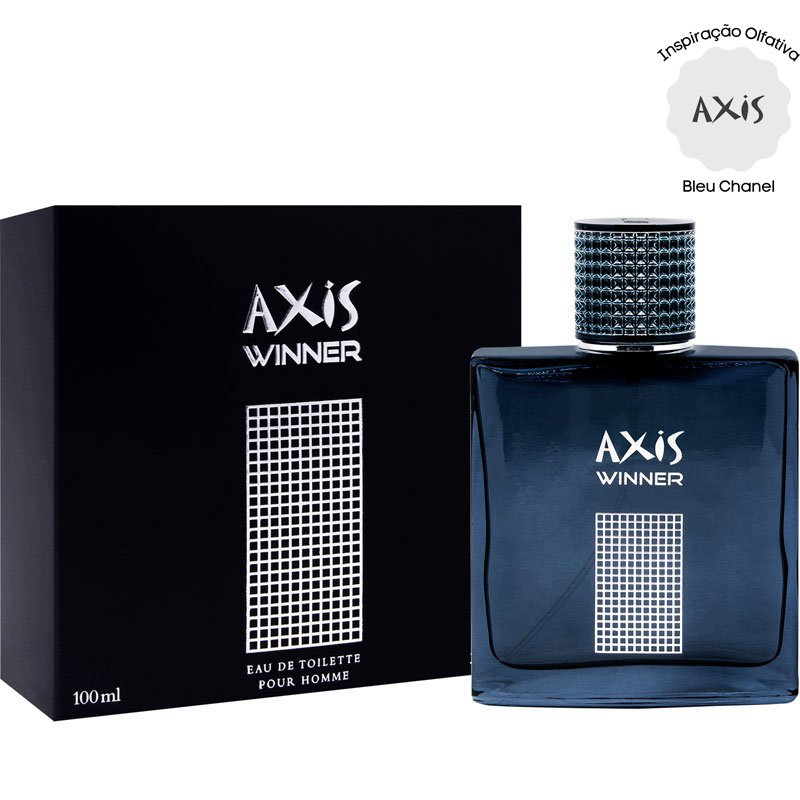perfume axis winner masculino edt 90ml bleu chanel 51336 2000 203821