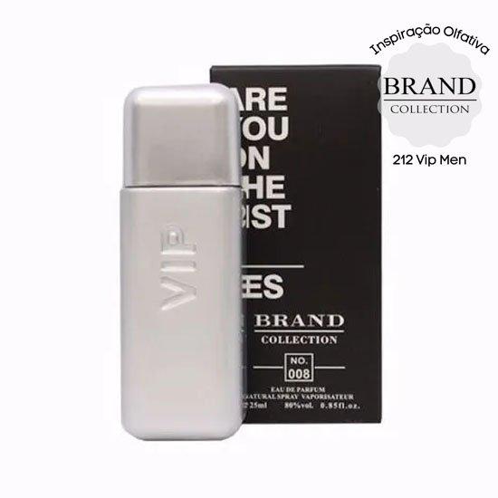 perfume brand collection 008 masculino 25 ml vip men 51231 2000 203763 1