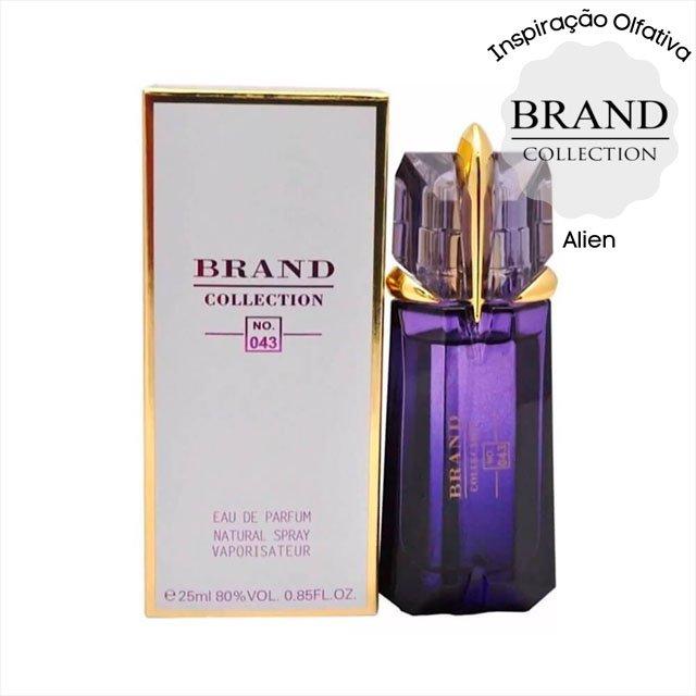 perfume brand collection 043 feminino 25 ml alien 51216 2000 203769 2