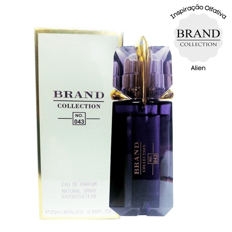 perfume brand collection 043 feminino 25ml alien 51216 2000 204051
