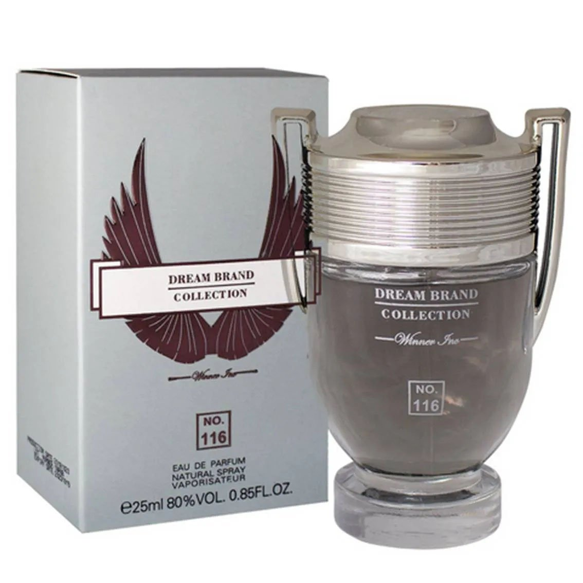 perfume brand collection 116 masculino 25 ml invictus 51227 2000 203596 1