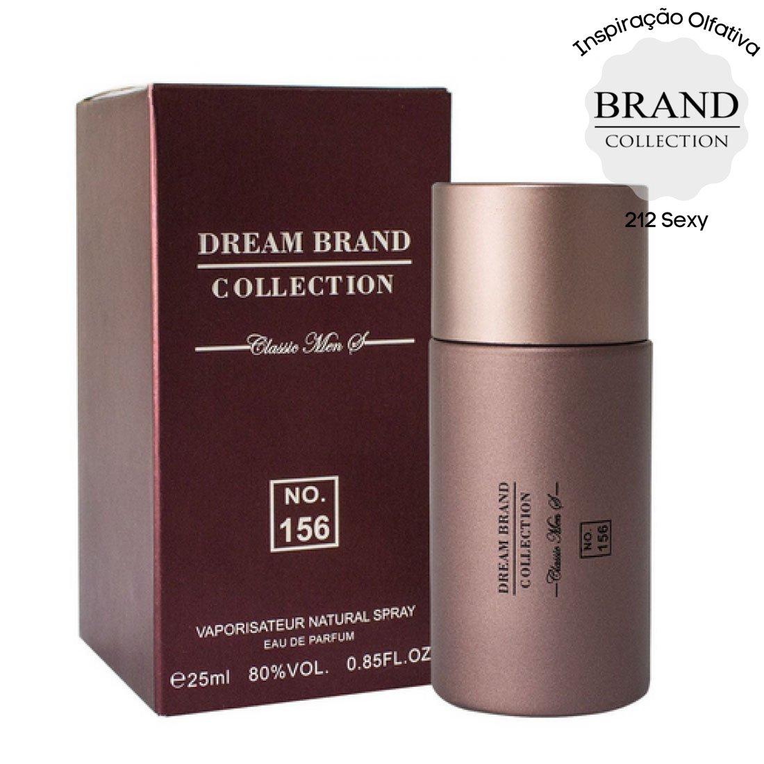 perfume brand collection 156 masculino 25 ml 212 sexy 51214 2000 203786 1