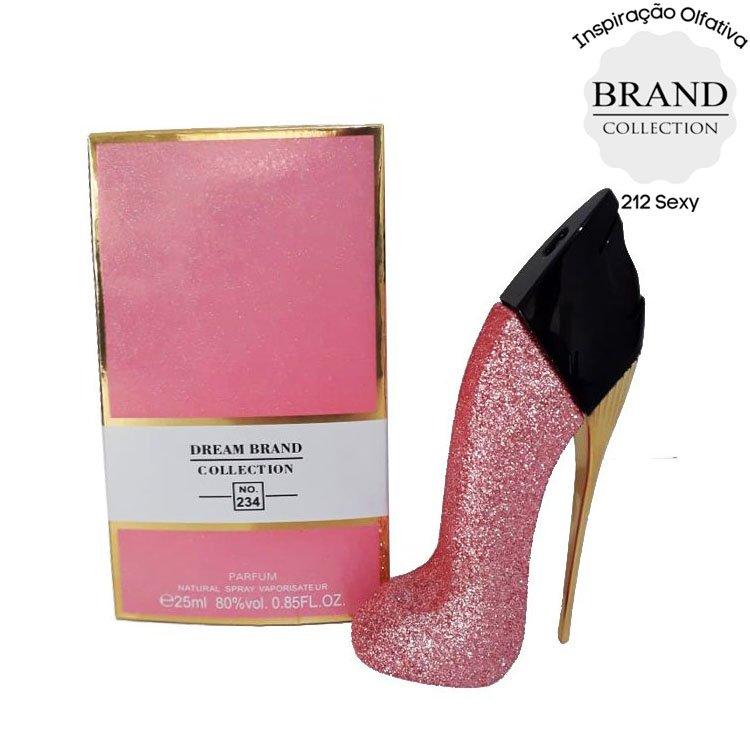 perfume brand collection 234 feminino 25 ml sapatinho glitter rosa 51213 2000 203791 1