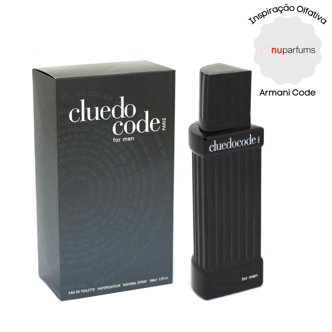 perfume nuparfums cluedo code for men masculino edt 100ml armani code 51319 2000 203826 1