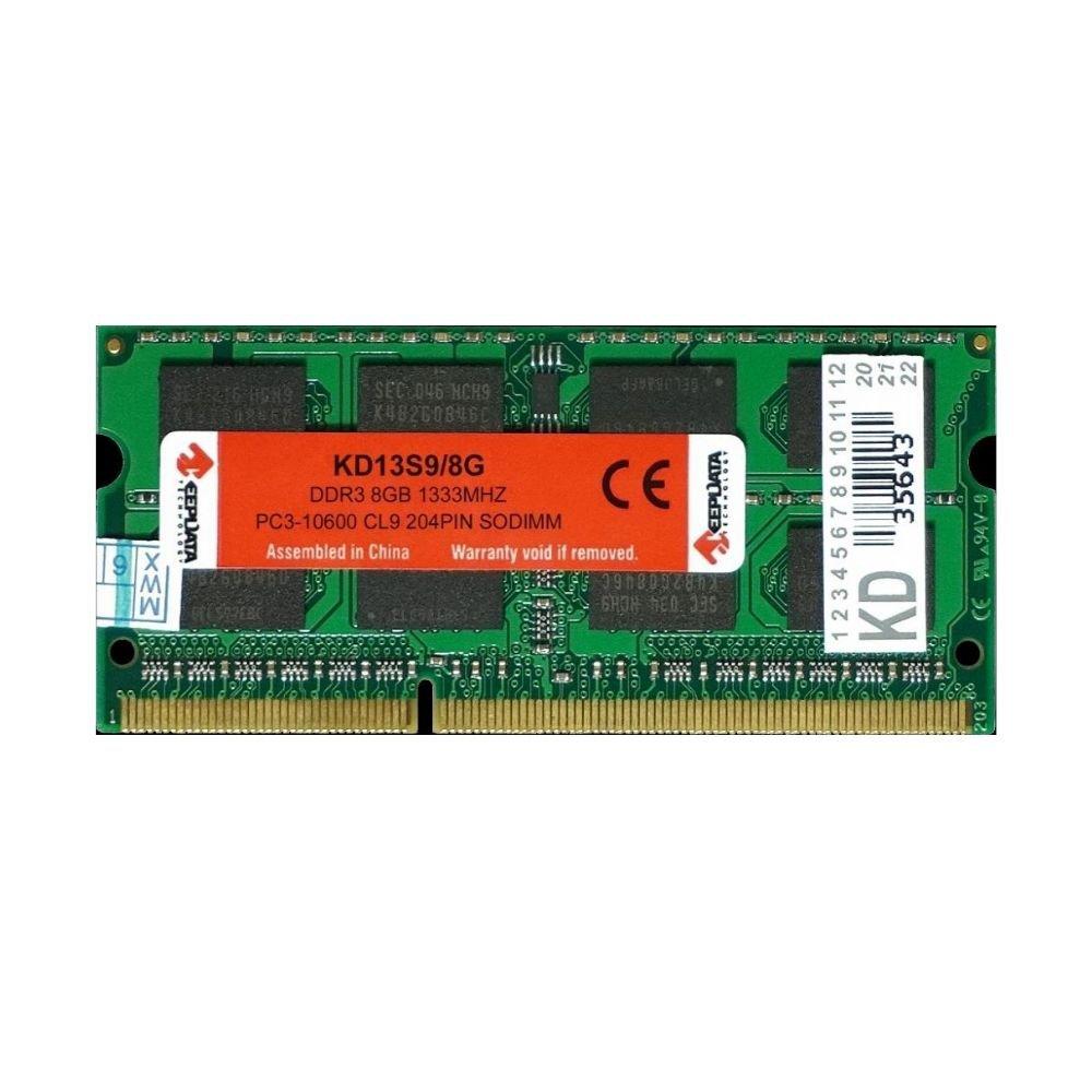 memoria notebook ddr3s 8gb pc1333 keepdata kd13s9 8 51385 2000 203964 4