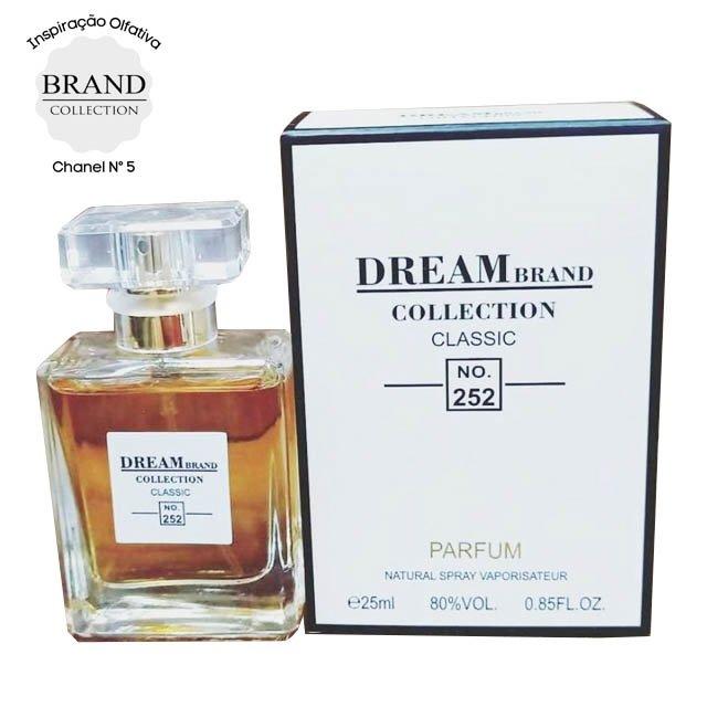 perfume brand collection 252 feminino 25ml chanel n5 51357 2000 204134