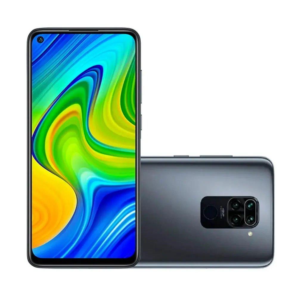 celular xiaomi redmi note 9 64gb 3gb 2 chip global preto onyx black 51161 2000 203402 1
