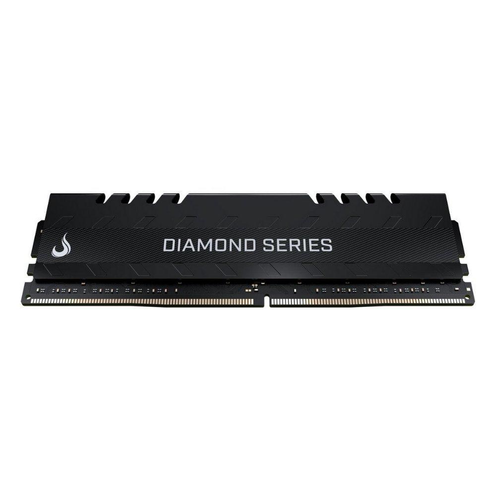 memoria ddr4 8gb pc2400 risemode diamond series black 51490 2000 204349