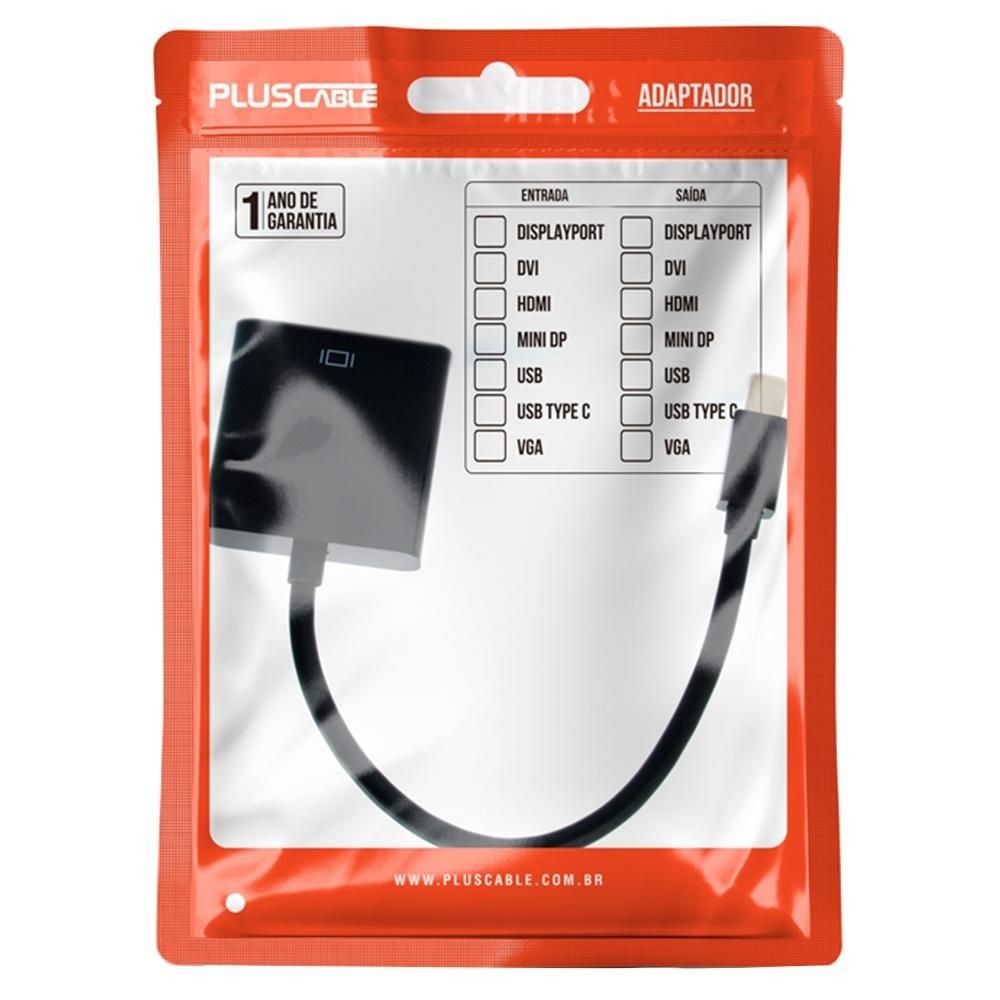 cabo adaptador hdmi f x mini dispp m adp 202bk plusc 51601 2000 204620 1