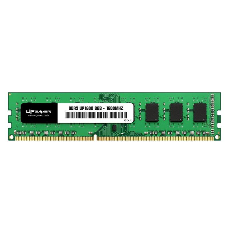 memoria ddr3 8gb pc1600 up gamer 51589 2000 204588 1