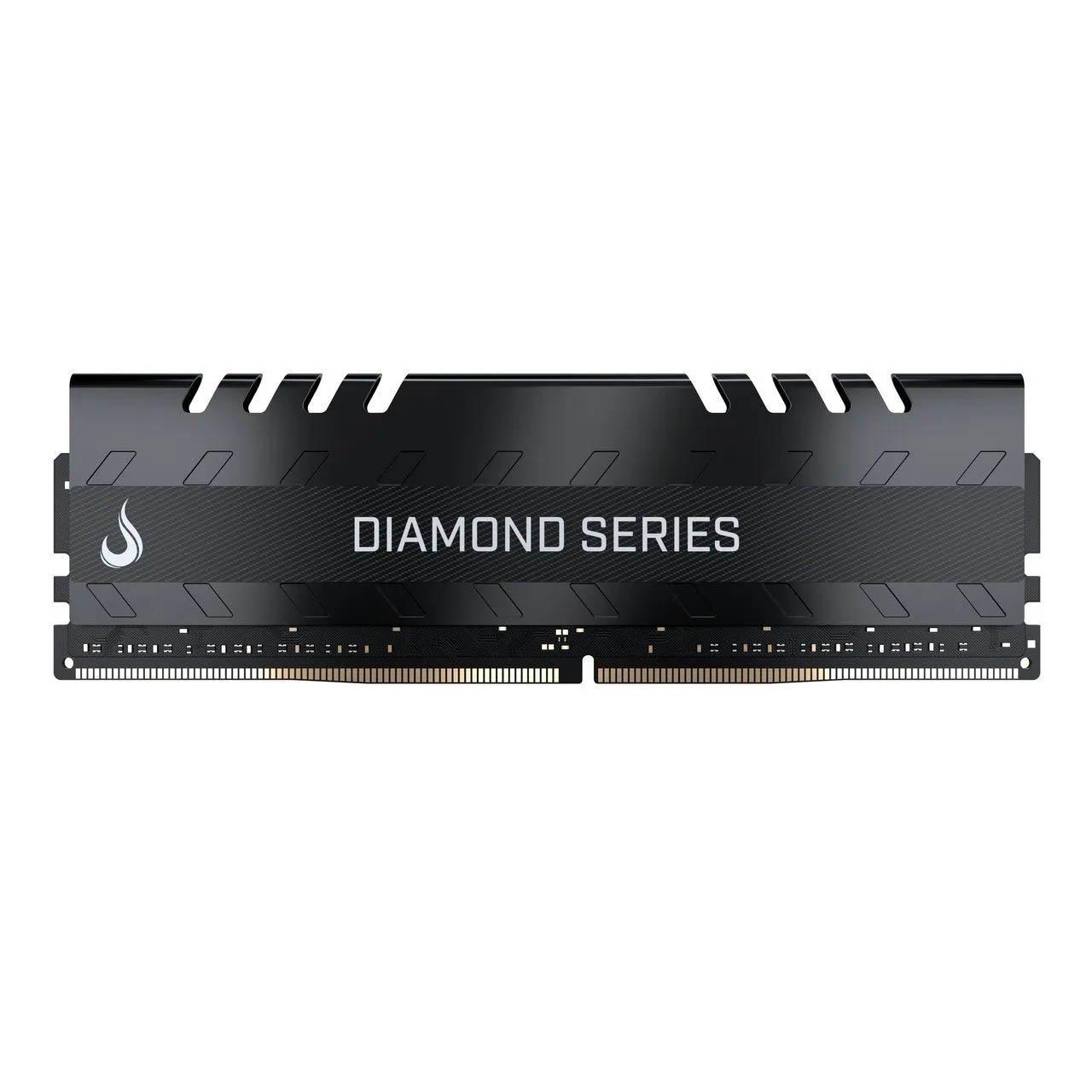 memoria ddr4 4gb pc2400 risemode diamond series black 51506 2000 204387 1