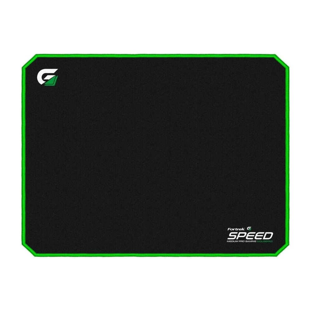 mouse pad gamer 320x240mm speed mpg101 verde fortrek 51634 2000 204723 1