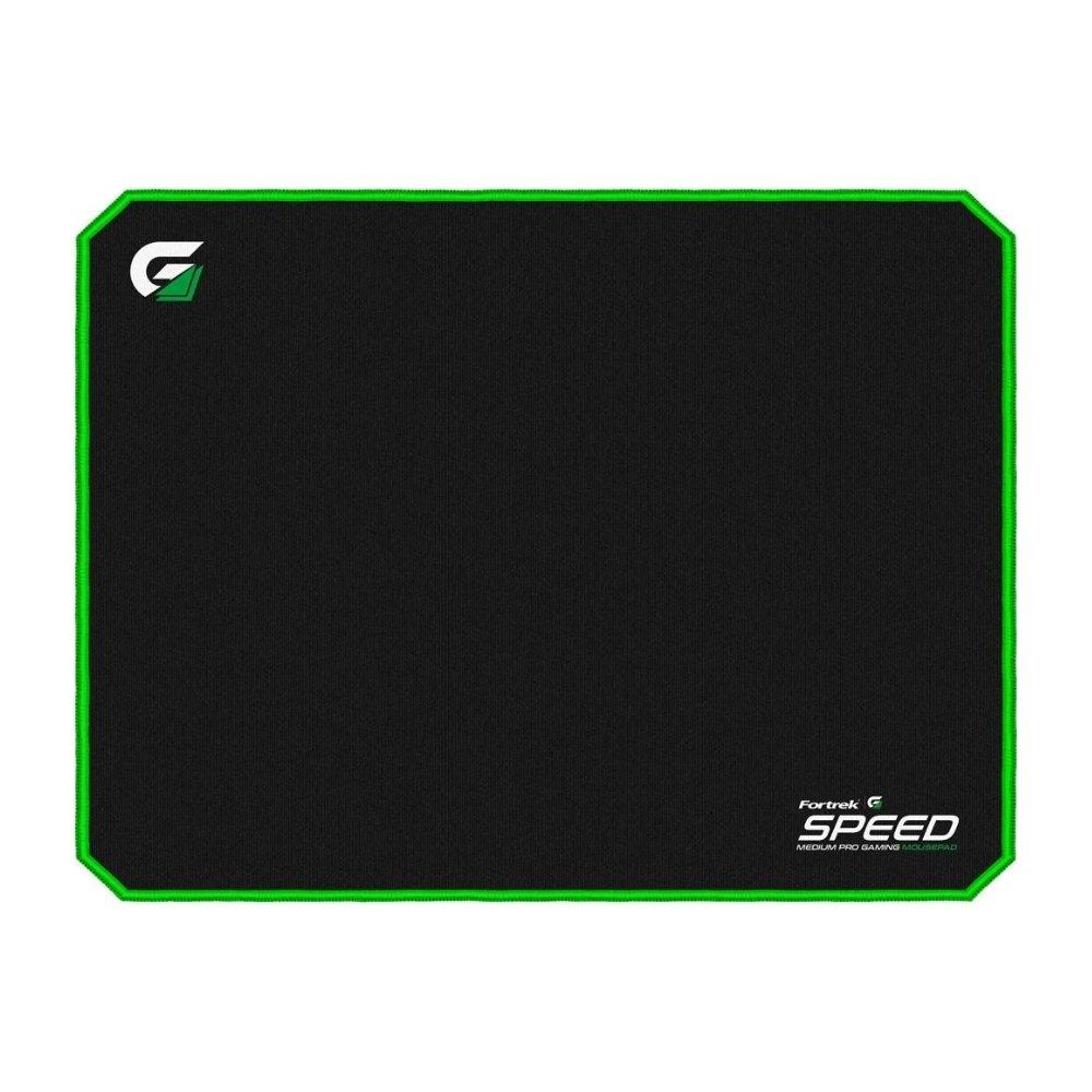 mouse pad gamer 320x240mm speed mpg101 verde fortrek 51634 2000 204723