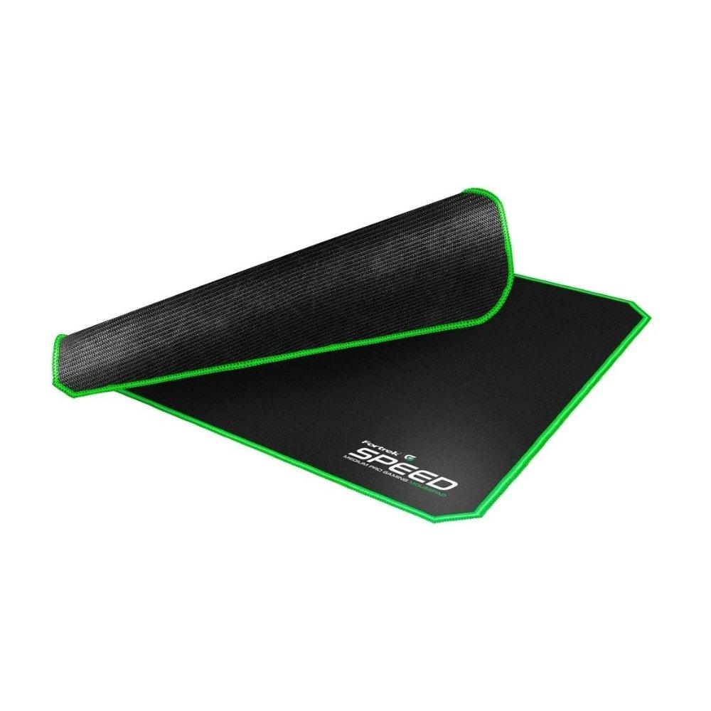 mouse pad gamer 320x240mm speed mpg101 verde fortrek 51634 2000 204725