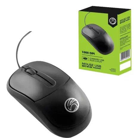 mouse usb 1000dpi bpc m129 brasil pc preto 51616 2000 204669 1