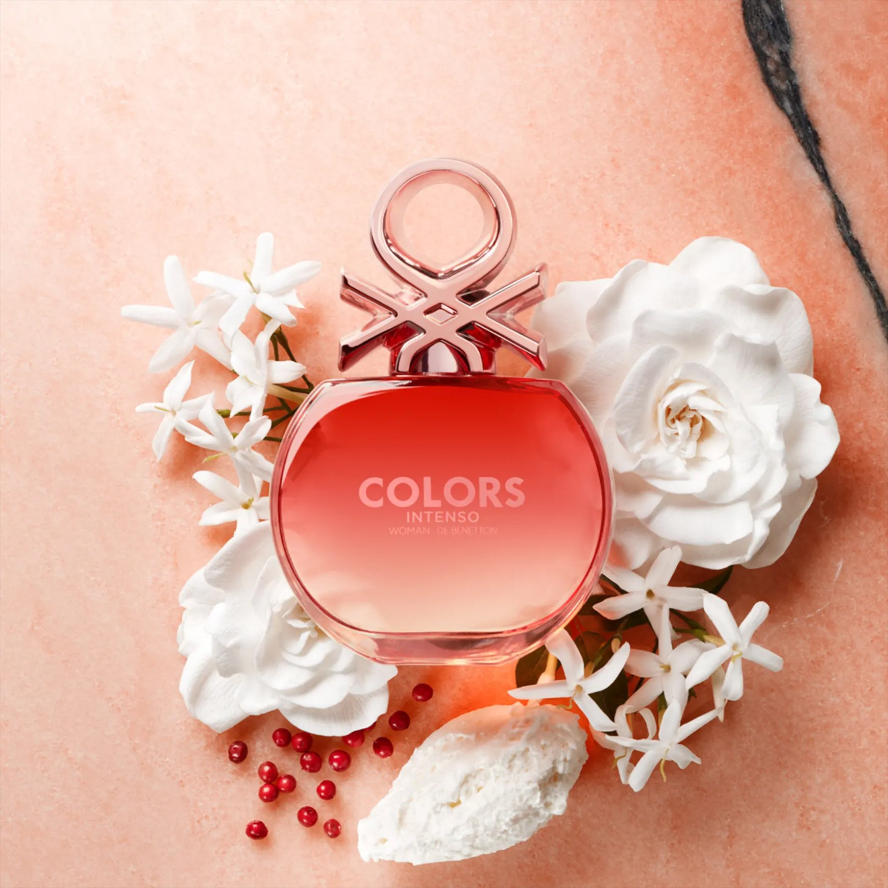 perfume benetton colors rose intenso feminino edp 80ml 51570 2000 204571 1