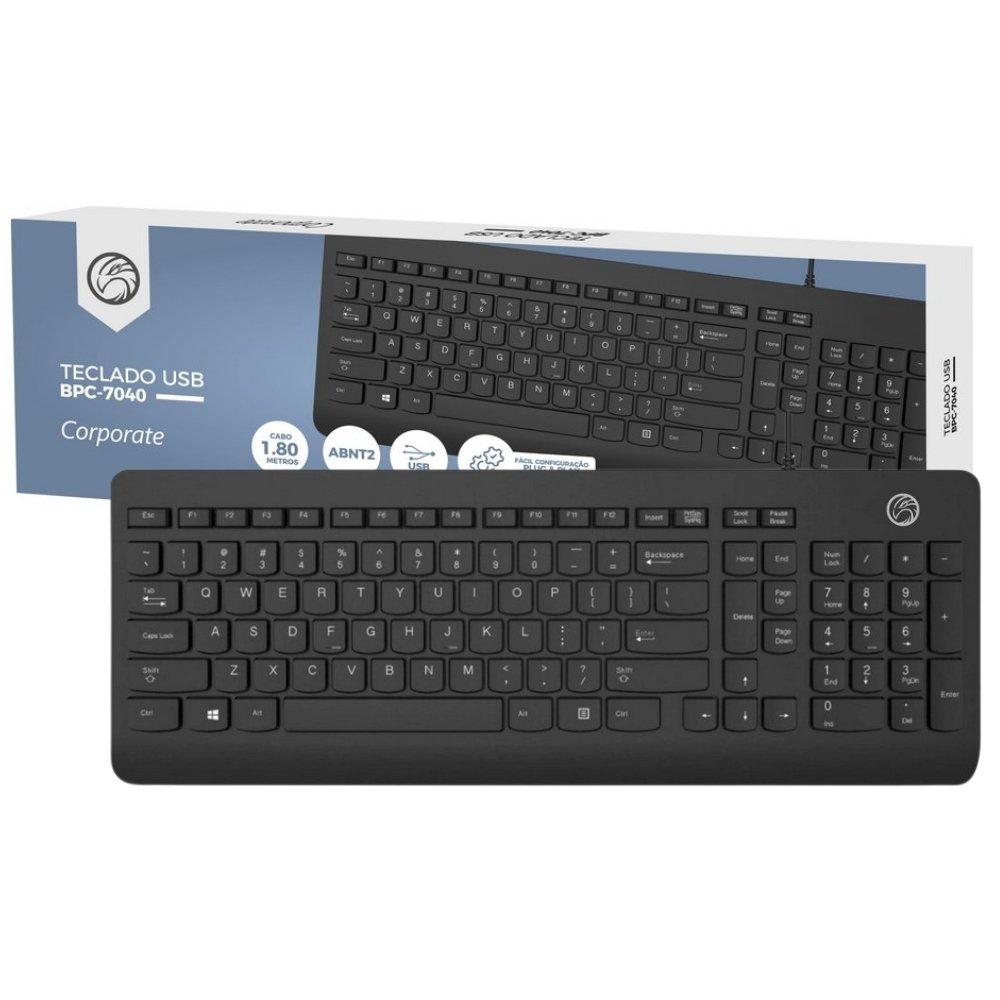 teclado usb brasil pc bpc 7040 preto 51617 2000 204661 1